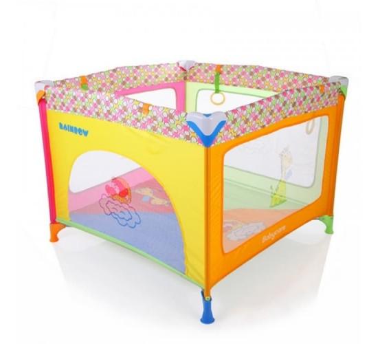 Манеж Baby Care Rainbow