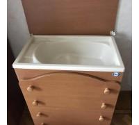 Комод Pali Four  с ванночкой витринный образец