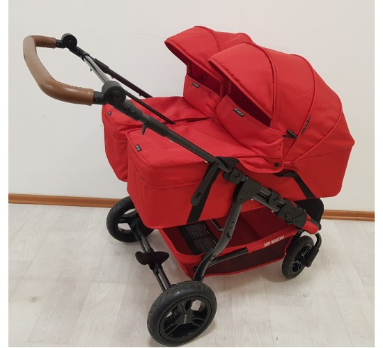 Детские коляски для двойни Baby Monsters Easy Twin 2 в 1