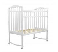 Детская кроватка Агат Золушка-1 белый