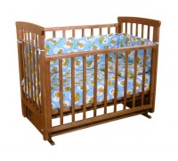 Детская кроватка Фея 511 поперечный маятник Витринный образец