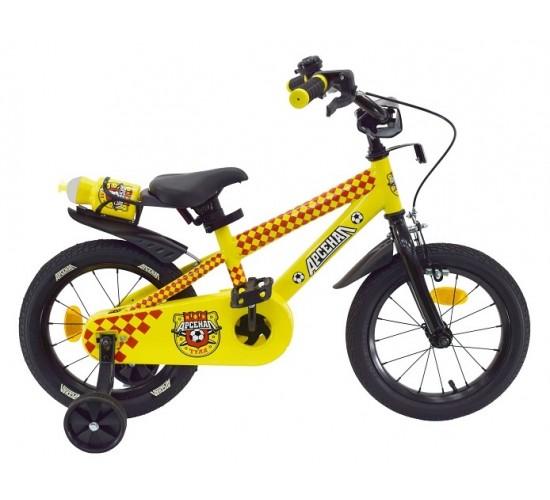 Велосипед двухколесный Арсенал 14 дюймов