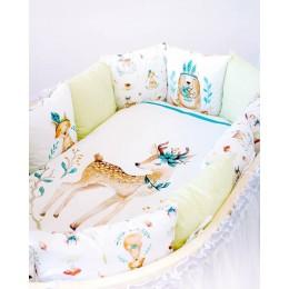 Комплект в кроватку lappetti Волшебный лес арт. 6073