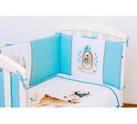 Комплект lappetti Волшебный лес артикул 6074 для прямоугольной кроватки