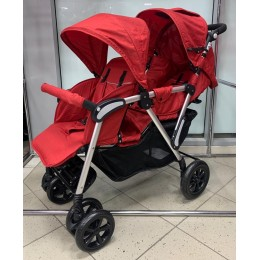 Прогулочная коляска ддя двойни Tandem stroller