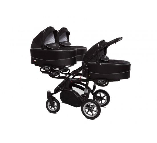 Коляска для тройни babyactive trippy Premium два в одном