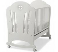 Детская кроватка Erbesi Cuore белый. Витринный образец