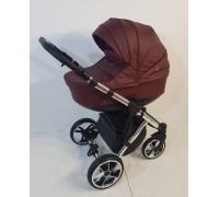 Детская коляска Baby Merc Zipy Q limited edition кожа 2 в 1