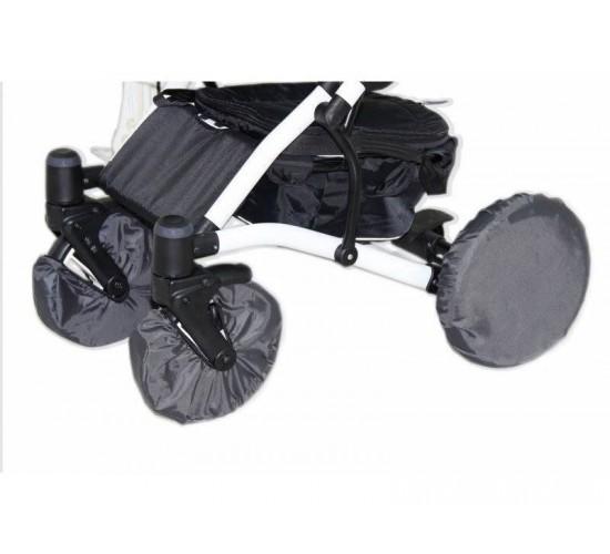 Чехлы на колеса для детской коляски с поворотными колёсами