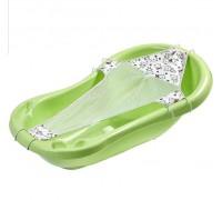 Горка для купания гамачок Карапуз для ванночки 84-100 см артикул 0557