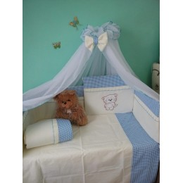 Комплект в кроватку Сонечка Котик 7 предметов