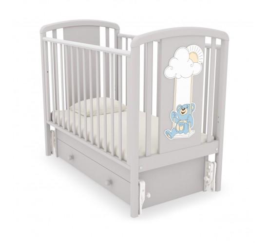 Детская кроватка Гандылян Жаклин (Мишка на качелях)