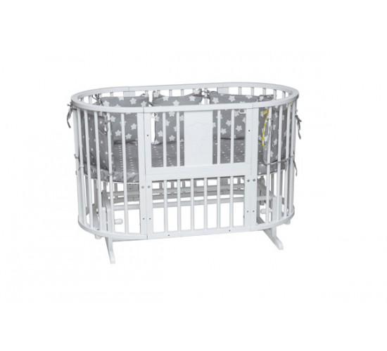 Кроватка-трансформер Инканто-А Слоник 8 в 1