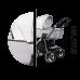 Детская коляска 2в1 Baby Merc La Noche с прогулочным блоком
