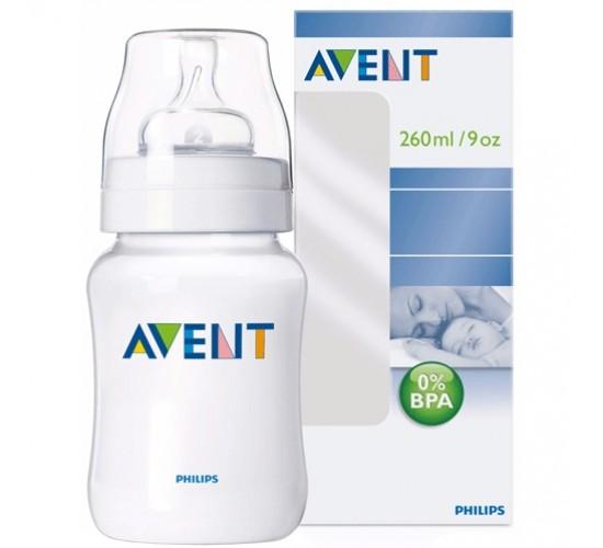 Бутылочка для кормления, 260мл. (полипропилен). Avent. Арт. 86050