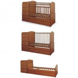 Кровать – трансформер СКВ-93001. Арт.930017(орех).