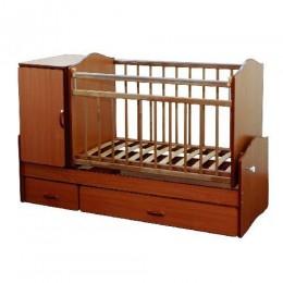 Кровать – трансформер СКВ-73002. Арт.730027(орех).