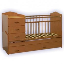 Кровать – трансформер СКВ-93001. Арт.930016(бук).