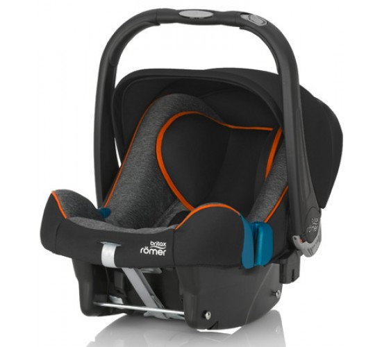 Детское автокресло Romer Britax Baby-Safe plus SHR II Black Marble
