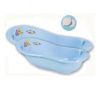 Детская ванна 100 см «Кубусь» с пробкой Арт.1285 голубой