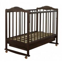 Кровать СКВ-2 Арт. 231118 (темный орех)