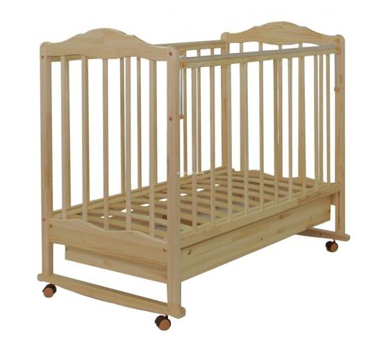 Кровать СКВ-2 Арт. 231115 (натуральный) Витринный образец