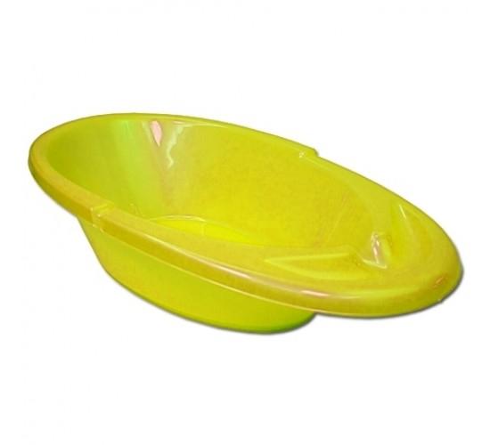 Детская ванна «Счастливый малыш» желтый