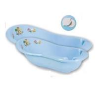 Детская ванна 100 см «Жирафка» с пробкой Арт.1179 голубой