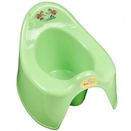 Горшок детский туалетный Арт.173 зеленый