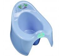 Горшок детский туалетный Арт.173 голубой