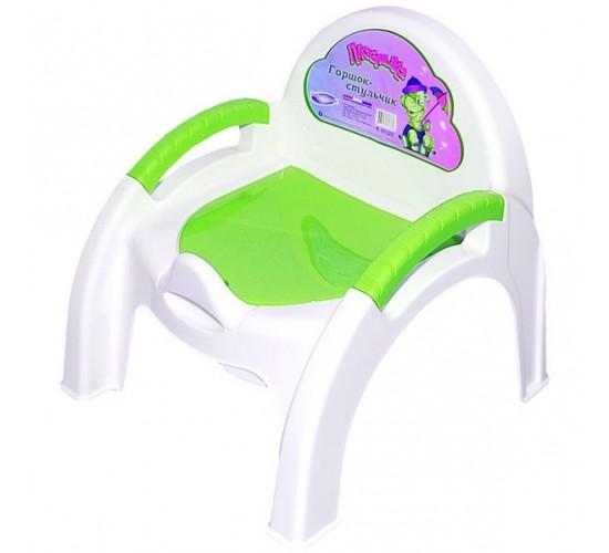 Горшок-стульчик Арт.4313267 зеленый