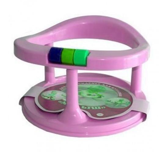 Сидение для купания на присосках. Арт. С117 розовый