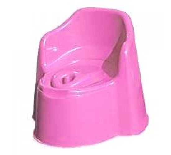 Горшок детский с крышкой Арт. P2703 розовый