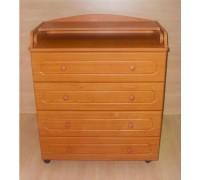 Комод пеленальный Бэби Элит Классик-1 цвет: вишня