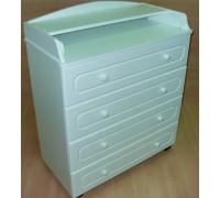 Комод пеленальный Бэби Элит Классик-1 цвет: белый