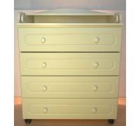 Комод пеленальный Бэби Элит Классик-1 цвет: слоновая кость
