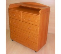 Комод пеленальный Бэби Элит Классик-2 цвет: вишня
