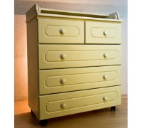 Комод пеленальный Бэби Элит Классик-2 цвет: слоновая кость