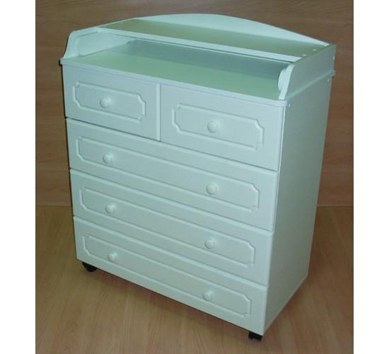 Комод пеленальный Бэби Элит Классик-2 цвет: белый
