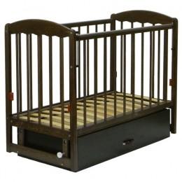 Кровать СКВ-3 Арт. 332008 (темный орех)