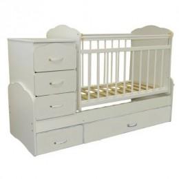 Кровать – трансформер СКВ-93003. Арт.930031 (белая).