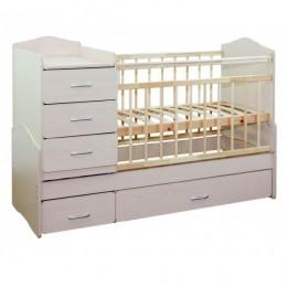 Кровать – трансформер СКВ-93001. Арт.930011(белый).