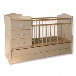 Кровать – трансформер СКВ-93001. Арт.930015(клен).