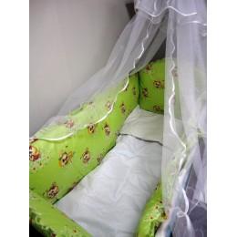 Комплект в кроватку Сонечка 3 , бязь 7 пред.бязь (120*60)