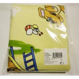 Арт.009 Пеленка 3-хслойная непромокаемая на резинке