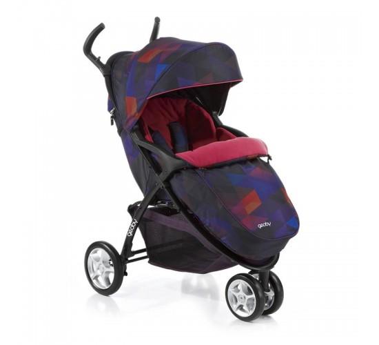 Детская прогулочная коляска Geoby C409