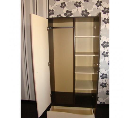 """Шкаф для одежды """"Чунга-Чанга"""" венге ваниль"""