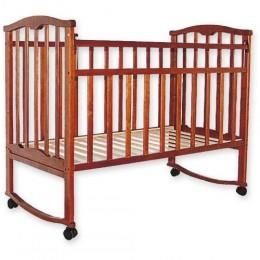 Детская кроватка Агат Золушка-1 вишня Арт.52103