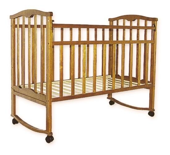 Детская кроватка Агат Золушка-1 орех Арт.52101