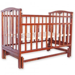 Детская кроватка Агат Золушка-3 маятник поперечный вишня Арт.52103